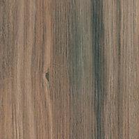 B&Q Colorado Oak Matt Wood effect Laminate & MDF Upstand (L)3050mm