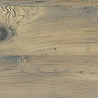38mm Mississippi pine Wood effect Laminate Square edge Kitchen Worktop, (L)3000mm