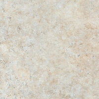 38mm Natural stone Brown Marble effect Laminate Kitchen Worktop (L)3600mm