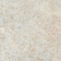 38mm Natural stone Brown Marble effect Laminate Round edge Kitchen Breakfast bar Worktop, (L)2000mm