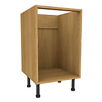 Cooke & Lewis Oak effect Multi-drawer Base unit, (W)500mm