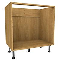 Cooke & Lewis Oak effect Multi-drawer Base cabinet, (W)800mm