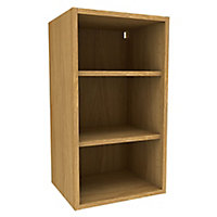 Cooke & Lewis Oak effect Deep Wall cabinet, (W)400mm