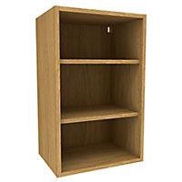 Cooke & Lewis Oak effect Deep Wall cabinet, (W)450mm