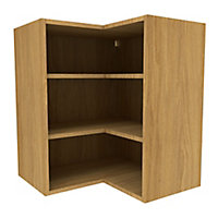 Cooke & Lewis Oak effect Deep corner Wall cabinet, (W)625mm