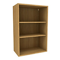 Cooke & Lewis Oak effect Tall Standard Wall cabinet, (W)600mm