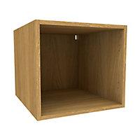 Cooke & Lewis Oak effect Deep bridging Base cabinet, (W)500mm