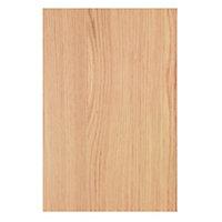 Cooke & Lewis Oak Effect Appliance & larder Corner unit blanking panel (H)719mm (W)459mm