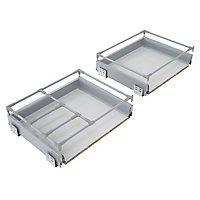 Cooke & Lewis Premium Soft-close Deep drawer box (W)500mm