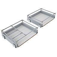 Cooke & Lewis Premium Framed soft close deep drawer box (W)600mm