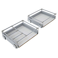 Cooke & Lewis Premium Soft-close Deep drawer box (W)800mm
