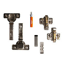 Cooke & Lewis 110° Standard Frameless Integrated appliance cabinet hinge, Pack of 2