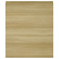 IT Kitchens Marletti Oak Effect Appliance & larder Base end panel (H)720mm (W)570mm