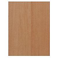 IT Kitchens Solid Oak Style Appliance & larder Base end panel (H)720mm (W)570mm