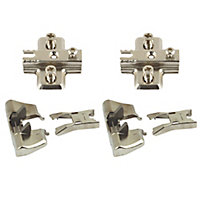Cooke & Lewis 165° Soft-close Cabinet hinge, Pack of 2