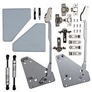 Cooke & Lewis Soft-close Non-framed 800-1000mm bi-fold door hinge
