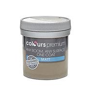 Colours Premium Chocolate torte Matt Emulsion paint 0.05L Tester pot