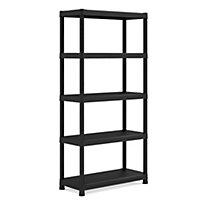 Form Flexi-store 5 shelf Plastic 5 Tier premium shelving unit
