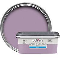 Colours Violette Matt Emulsion paint 2.5L