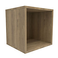 Form Konnect Oak effect 1 Cube Shelving unit (H)352mm (W)352mm (D)317mm