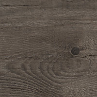38mm Mountain timber Wood effect Laminate Square edge Kitchen Left-hand curved Worktop, (L)1800mm