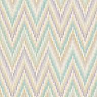 A.S. Creation Wall Fashion Origine Green & purple Geometric Embossed Wallpaper