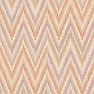 A.S. Creation Wall Fashion Origine Orange & purple Geometric Embossed Wallpaper