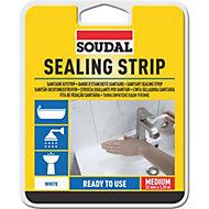 Soudal White Sealant strip