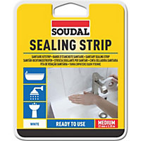 Soudal White Sealant strip