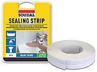 Soudal White Sealant strip (L)3350mm