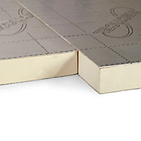 Recticel Instafit Polyurethane Insulation board (L)2.4m (W)1.2m (T)25mm