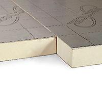 Recticel Instafit Polyurethane Insulation board (L)2.4m (W)1.2m (T)150mm