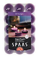 Spaas Lavender & chocolate Tealights, Pack of 30