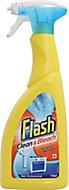 Flash Clean & Bleach Cleaning spray, 0.75L