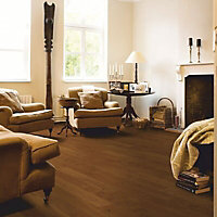 Quick-step Cadenza Cognac Oak effect Real wood top layer flooring, 1m² Pack