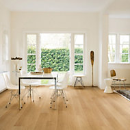 Quick-step Aquanto Natural Oak effect Laminate flooring, 1.84m² Pack