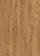 Quick-step Aquanto Natural Oak effect Laminate flooring, Sample