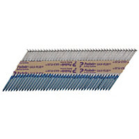 Paslode 63mm Galvanised Collated nails & fuel cells, Pack of 3300