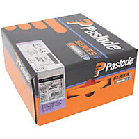 Paslode 90mm Galvanised Collated nails & fuel cells, Pack of 1100