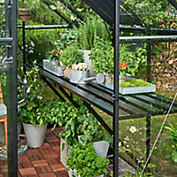 Halls Qube 6ft Greenhouse staging