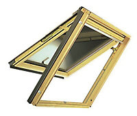 VELUX Nordic pine Top hung Roof window (H)980mm (L)780mm