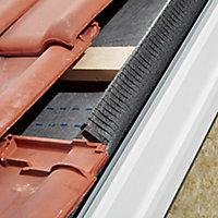 Velux Anthracite Aluminium Tile Flashing, (L)1.18m (W)1.14m