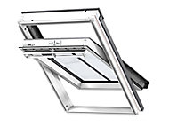 Velux White Timber Centre pivot Roof window, (H)1316mm (W)1167mm