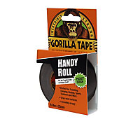 Gorilla Handy Roll Black Tape (L)9m (W)25.4mm