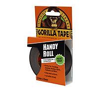 Gorilla Handy Roll Black Tape (L)9m (W)25.4mm