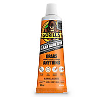 Gorilla Solvented White Multi-purpose Grab adhesive 80ml