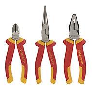 Irwin 3 Piece VDE pliers set