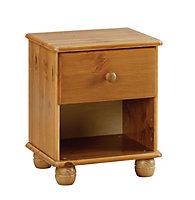 Felix Antique effect Bedside chest (H)437mm (W)369mm (D)308mm