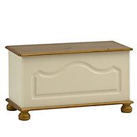 Oslo Cream Storage chest (H)450mm (W)828mm (D)417mm