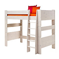 Wizard White wash High sleeper bed